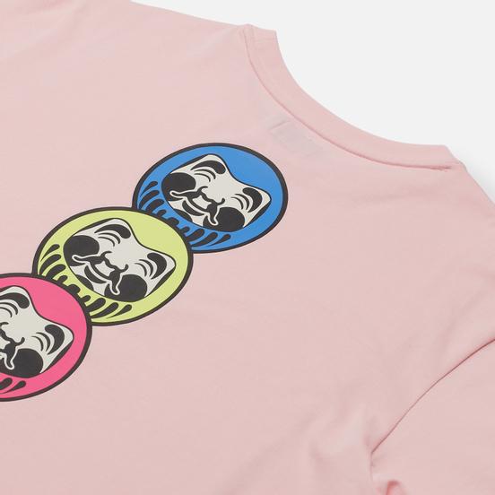 Женская футболка Evisu Heritage Daruma Printed Pink