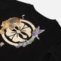 Женская футболка Evisu Heritage Tiger & Kamon Foil Printed Black фото - 2