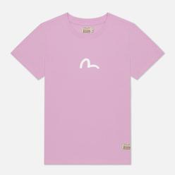 Женская футболка Evisu Heritage Tiger & Kamon Foil Printed Lave