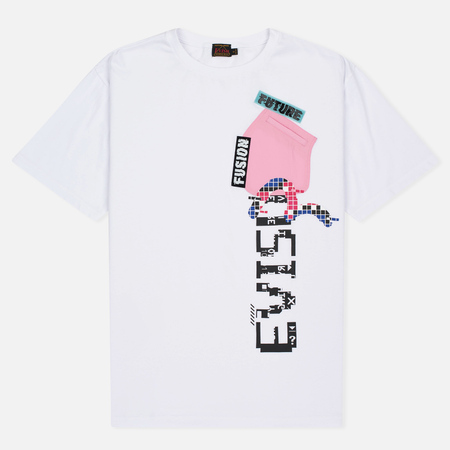 Женская футболка Evisu Pocket White/Pink