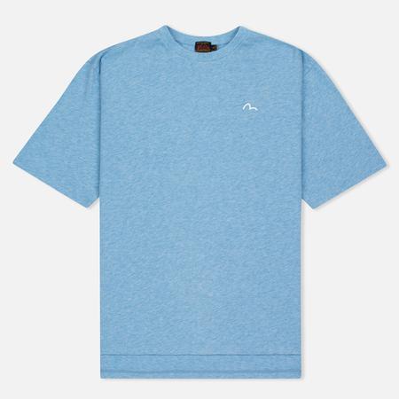 Женская футболка Evisu Stamp Long Tee Blue