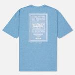 Женская футболка Evisu Stamp Long Tee Blue фото- 2
