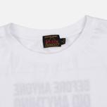 Женская футболка Evisu Stamp Long Tee White фото- 1