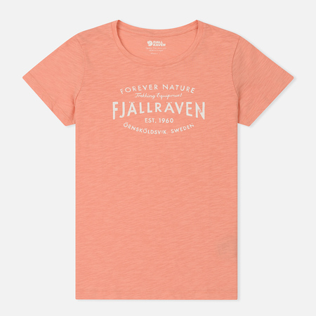 Женская футболка Fjallraven Fjallraven Est. 1960 Lily