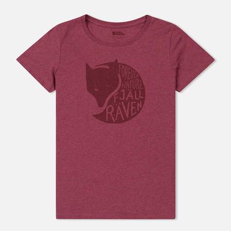 Женская футболка Fjallraven Forever Nature Plum