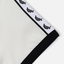 Женская футболка Fred Perry Laurel Sports Authentic Taped Ringer Snow White фото- 3
