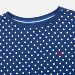 Fred Perry Polka Dot Women's T-shirt Medieval Blue photo- 1
