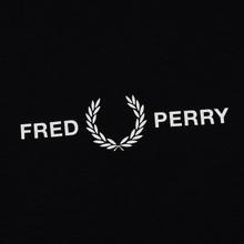 Женская футболка Fred Perry Printed High Neck Black фото- 2