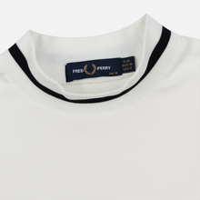 Женская футболка Fred Perry Printed High Neck Snow White фото- 1