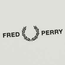 Женская футболка Fred Perry Printed High Neck Snow White фото- 2