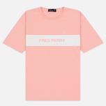 Женская футболка Fred Perry Printed Panel Cherry Blossom фото- 0