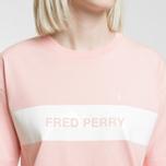 Женская футболка Fred Perry Printed Panel Cherry Blossom фото- 3