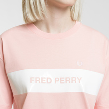 Женская футболка Fred Perry Printed Panel Cherry Blossom фото- 3