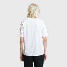 Женская футболка Fred Perry Printed Panel White фото- 2