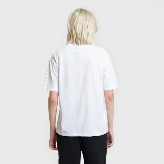Женская футболка Fred Perry Printed Panel White