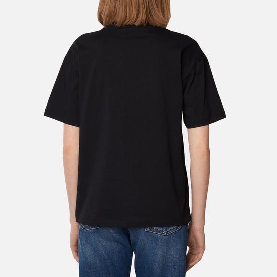 Женская футболка Fred Perry Satin Trim Black