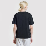 Женская футболка Fred Perry Sports Authentic Embroidered Panel Black фото- 4