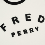 Женская футболка Fred Perry Sports Authentic Embroidered Snow White фото- 2