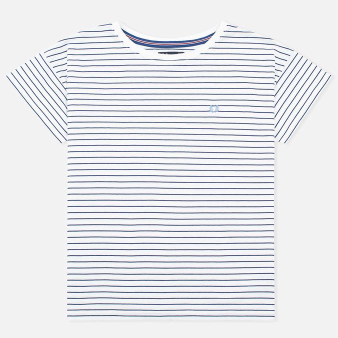 Женская футболка Fred Perry Striped Snow White