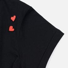 Женская футболка Fred Perry x Amy Winehouse Heart Detail Black фото- 3