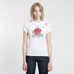Женская футболка Fred Perry x Amy Winehouse Rose Print White фото- 1