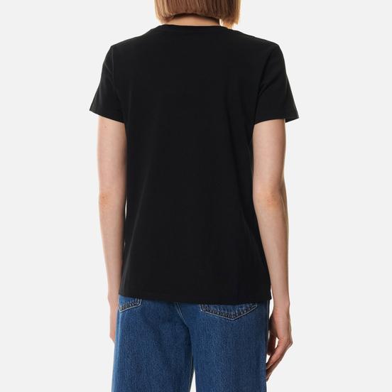 Женская футболка Levi's The Perfect Large Batwing Black Graphic