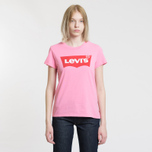 Женская футболка Levi's The Perfect Large Batwing Sachet Pink фото- 1