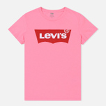 Женская футболка Levi's The Perfect Large Batwing Sachet Pink фото- 0