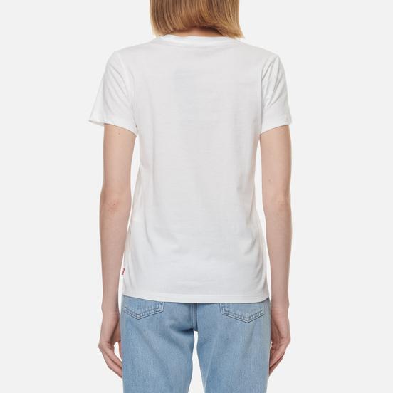 Женская футболка Levi's The Perfect Large Batwing White