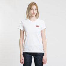 Женская футболка Levi's x Peanuts The Perfect Housemark Chest White фото- 1