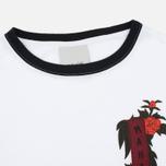 Maharishi Hanafuda Jersey 150 Women's T-shirt Optic White/Black photo- 1