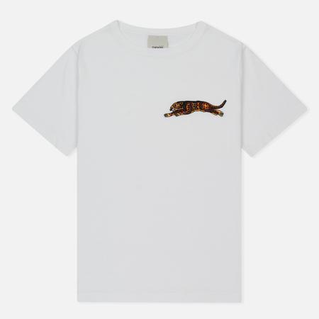 Женская футболка maharishi Leopard White