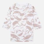Женская футболка Maharishi Reversible Camo Baseball Desert фото- 0