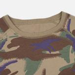 Женская футболка Maharishi Reversible Camo Baseball Papal Woodland фото- 1