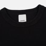 Женская футболка maharishi Rib Organic Cotton Black/Black фото- 1