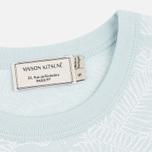 Maison Kitsune All Over Fox Women's T-shirt Aqua Verde photo- 2