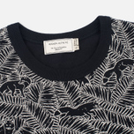 Женская футболка Maison Kitsune All Over Fox Black фото- 1