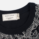 Женская футболка Maison Kitsune All Over Fox Black фото- 2