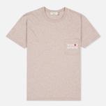 Женская футболка Maison Kitsune Army Beige Melange фото- 0
