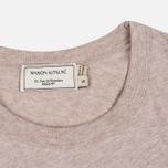 Женская футболка Maison Kitsune Army Beige Melange фото- 3