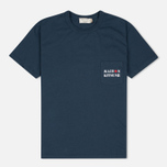 Maison Kitsune Army Women's T-shirt Blue Storm photo- 0
