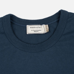 Maison Kitsune Army Women's T-shirt Blue Storm photo- 1