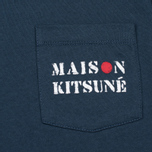 Maison Kitsune Army Women's T-shirt Blue Storm photo- 2