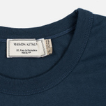 Maison Kitsune Army Women's T-shirt Blue Storm photo- 3