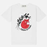 Женская футболка Maison Kitsune Dan Ah Kim Asleep Ecru фото- 0
