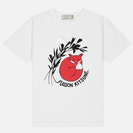 Женская футболка Maison Kitsune Dan Ah Kim Asleep Ecru