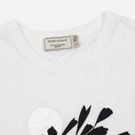 Женская футболка Maison Kitsune Dan Ah Kim Asleep Ecru фото- 1