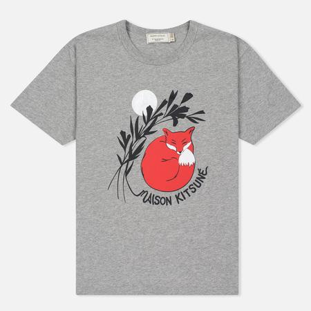 Женская футболка Maison Kitsune Dan Ah Kim Asleep Grey Melange