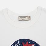 Женская футболка Maison Kitsune Dan Ah Kim Moon Ecru фото- 1