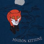 Женская футболка Maison Kitsune Embroidery Blue фото- 2